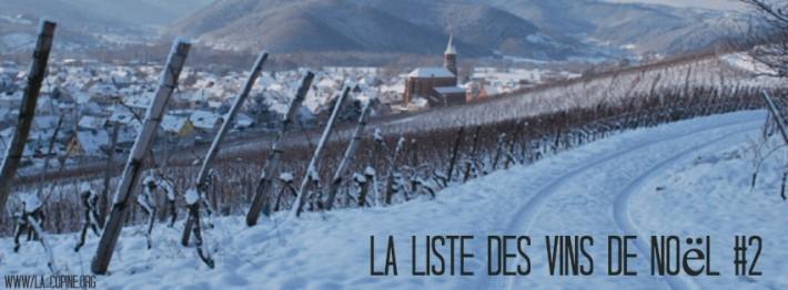 Top liste des vins de Noël #2
