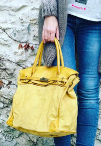 sac-jaune-safran-shopping