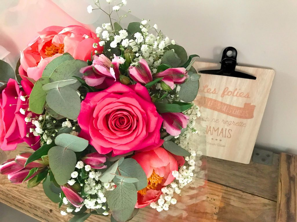 bouquet de fleurs pour la fete des meres