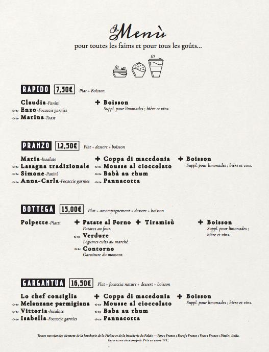 menu dejeuner sur le pouce aix en provence