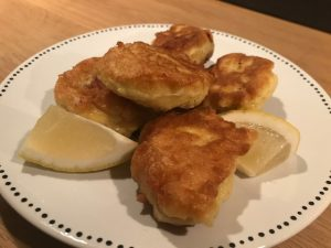 beignet de jambon base patates