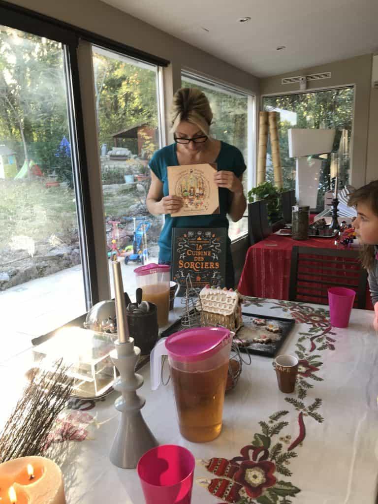 ateliers de cuisine parenf/enfant thème harry potter