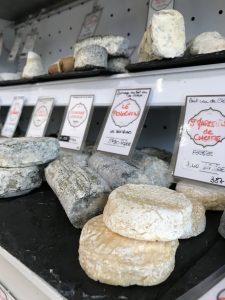 pleateau de fromages pour Noël sur aix