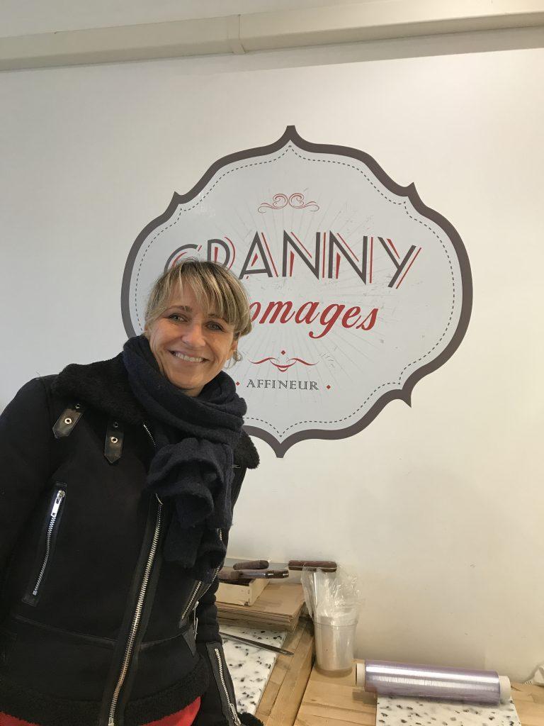 pleateau de fromages chez Granny Fromage Aix