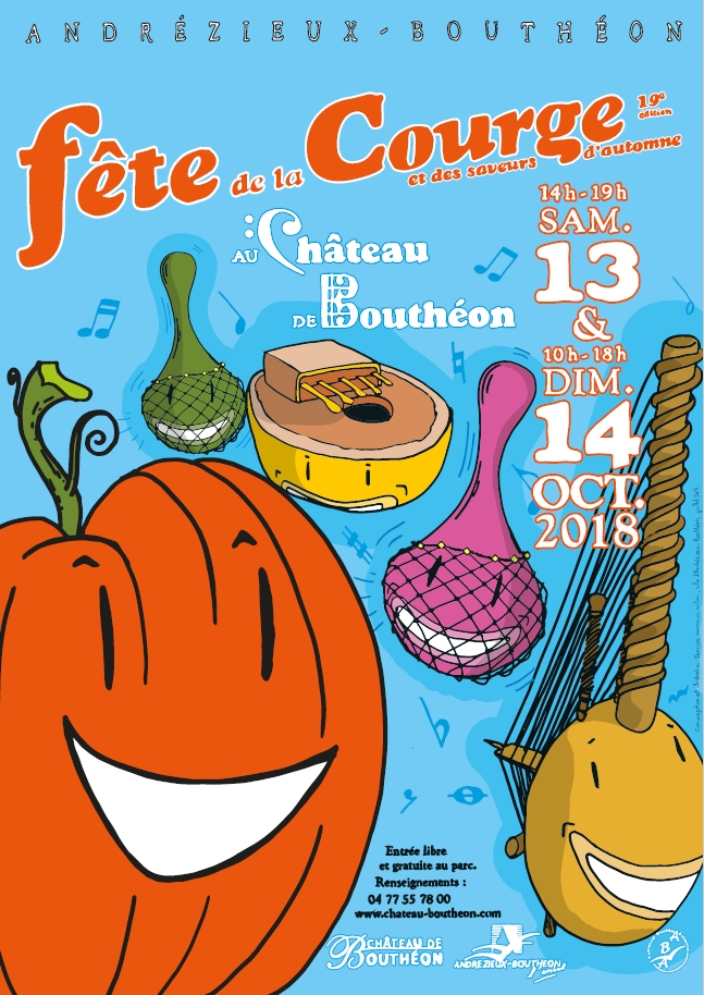 date fete courge boutheon loire 2018