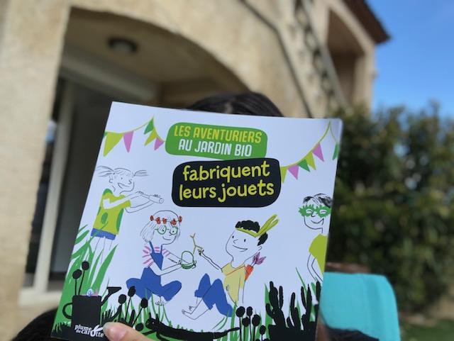 livre enfant fabriquer jouets jardin