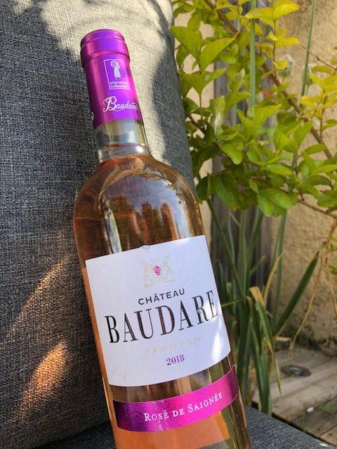 accord vin rose et salade été