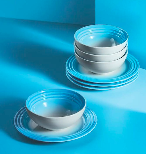 "assiette le creuset collection ""ombre"""