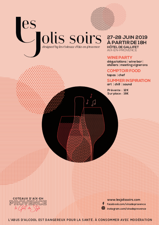 degustatation soiree vins de provence galifet aix