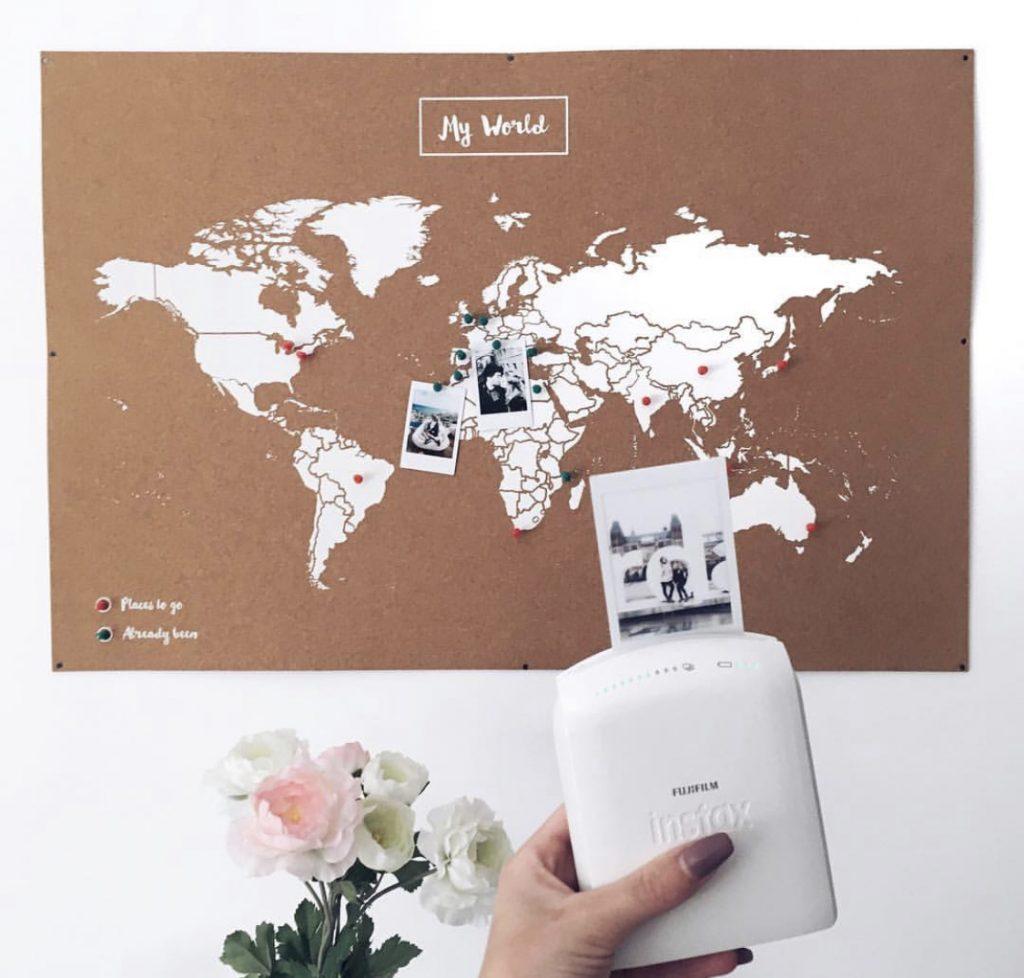 carte du monde liege voyage