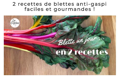 recette legume saison blettes blog la copine