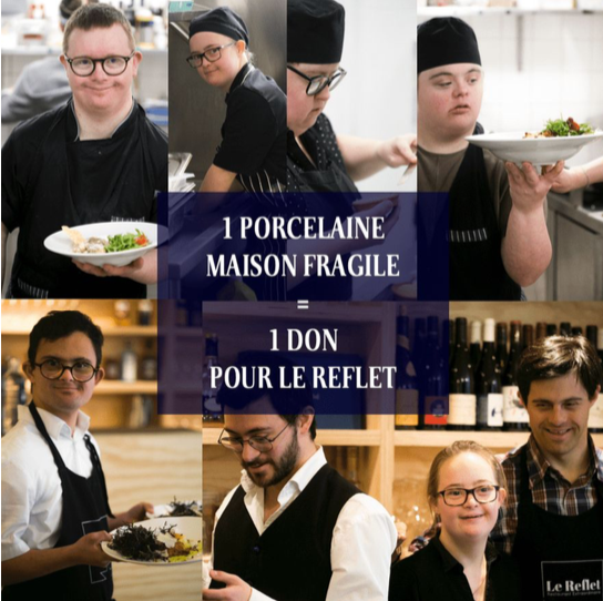 operation solidaire le reflet maison fragile