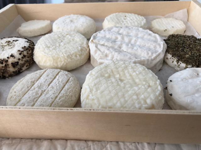 fromage de chevre plateau
