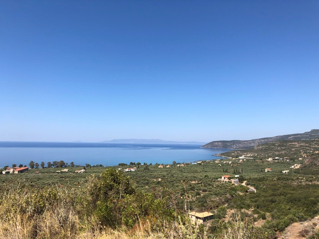 plage fenoas grece peloponnese