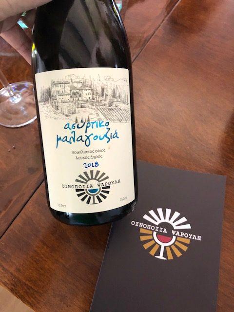 vin blanc grec malagouzia et acertiko