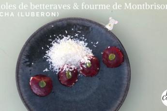 recette chef raviole betterave fourme montbrison