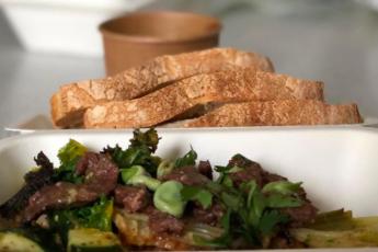 recette boeuf mariné legumes pinrtemps