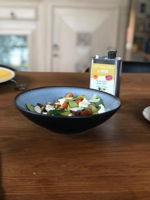 recette salade courgette facile
