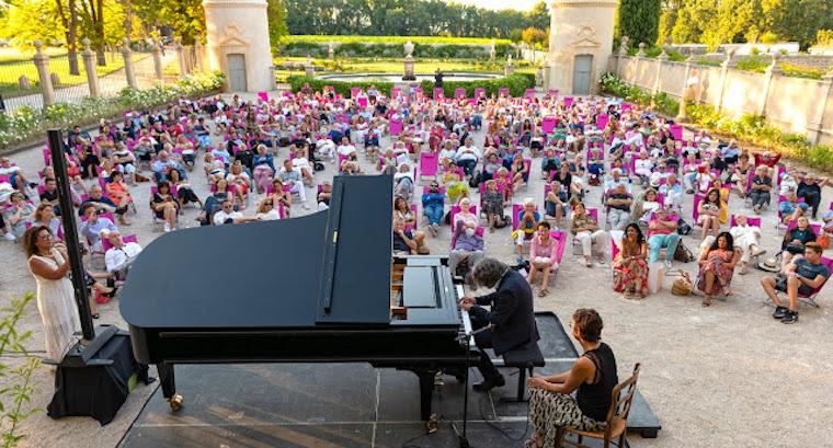 festival provence musicales dans vignes
